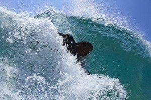 Body Surfing Aliso Beach