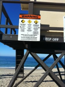 Aliso Beach Life Guard Tower