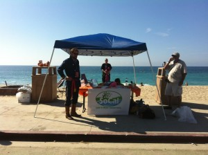 Stephen Blackwell, SoCal Land & Water Conservancy, Aliso Beach, Halloween Costume Cleanup