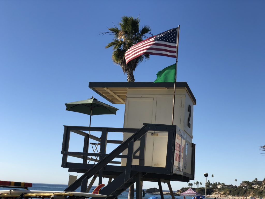 Aliso Beach LifeGuard Tower
