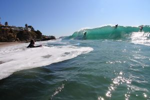 Aliso Beach Skimmer Perfecting Tube Riding!