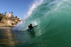 Body Boarder Aliso Beach