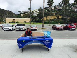 March 1st Surfrider Foundation South OC Chapter Beach Cleanup Representative Nyra.jpg