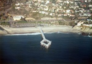 Aliso Beach Pier From Above