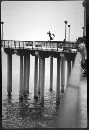 Jumping Off The Aliso Pier.JPG